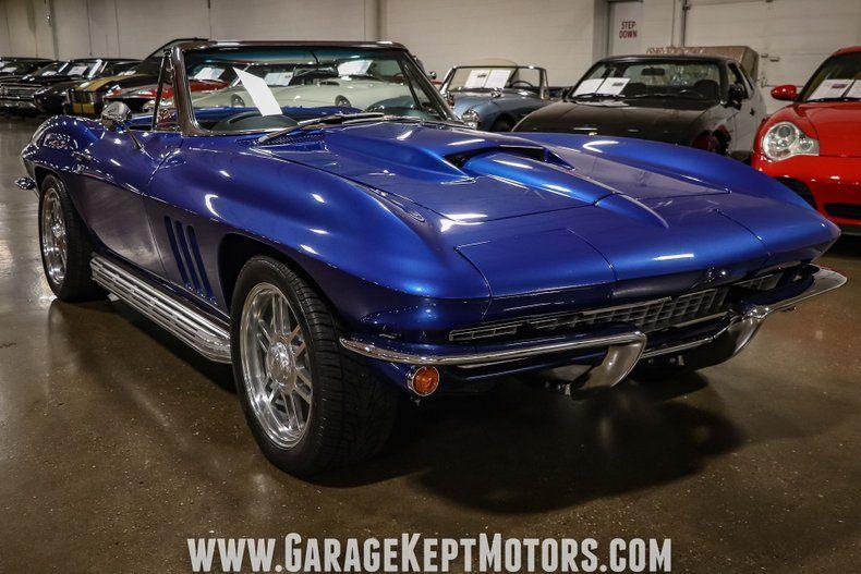 1966 Corvette Convertible Convertible picture #19