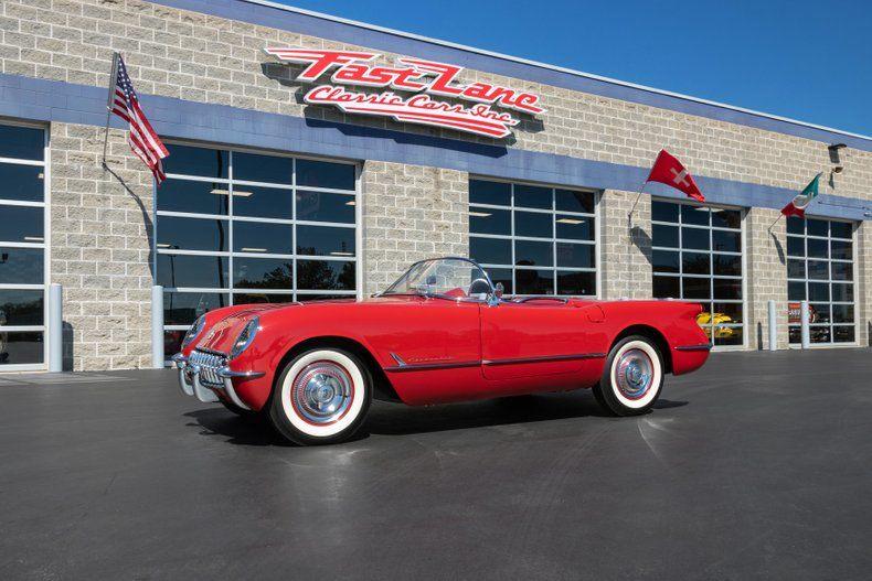1954 Corvette picture #1