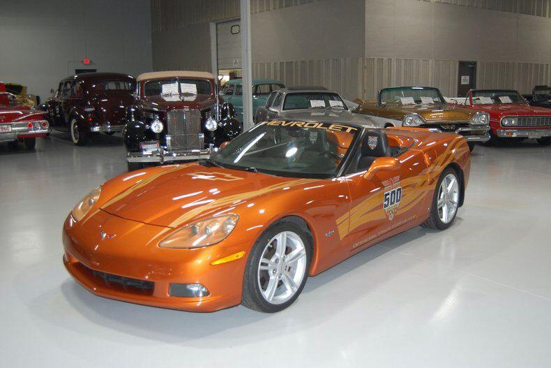 2007 Corvette Indy Pace Car Convertible Convertible picture #1