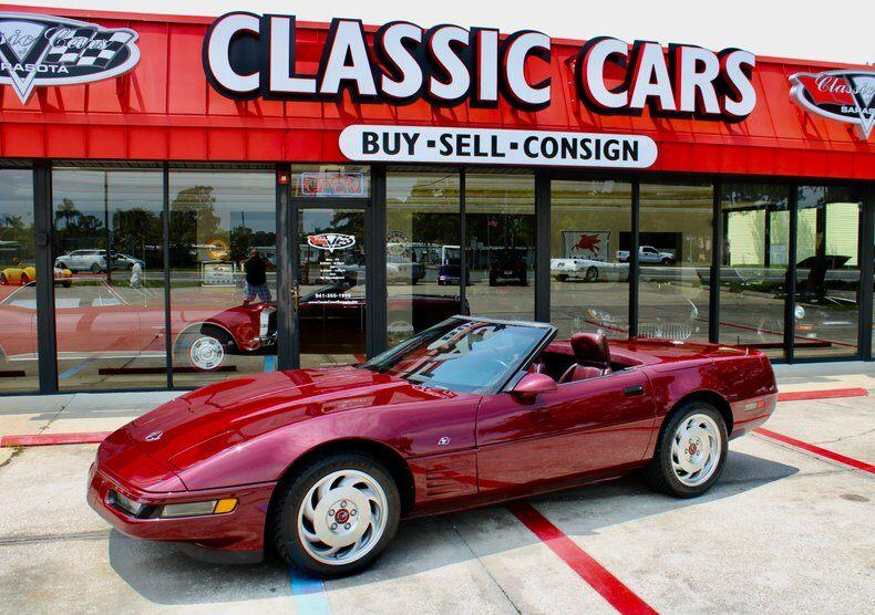 1993 Corvette 2dr Convertible 2dr Convertible picture #1