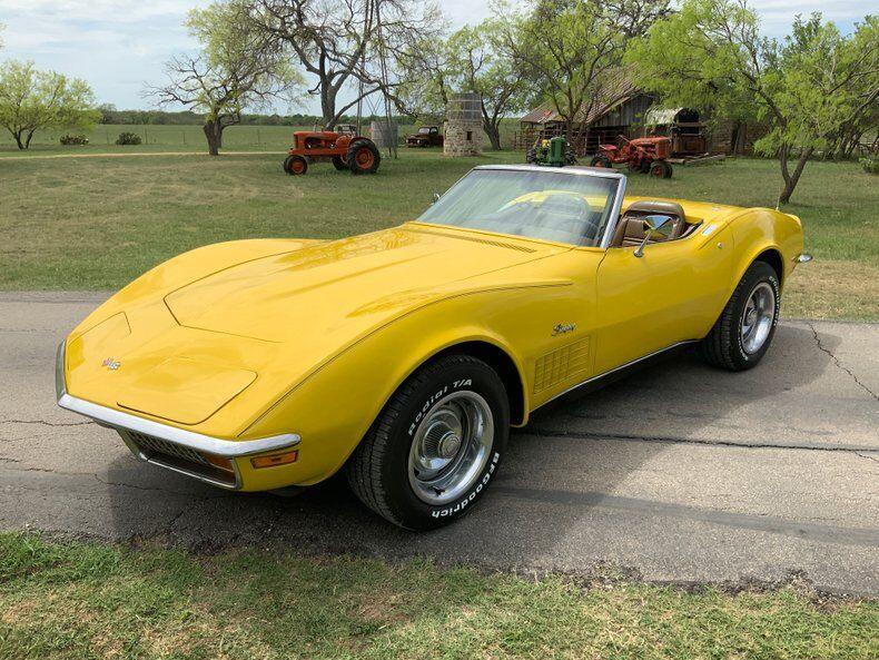 1972 Corvette Stingray Convertible Stingray Convertible picture #1