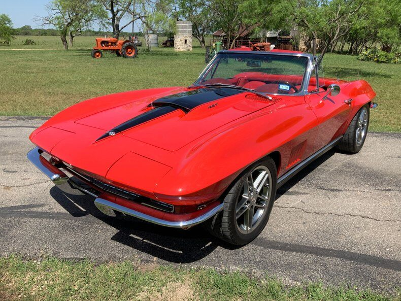 1967 Corvette LS 7 6 Speed Ac Custom Frame LS 7 6 Speed Ac Custom Frame picture #1