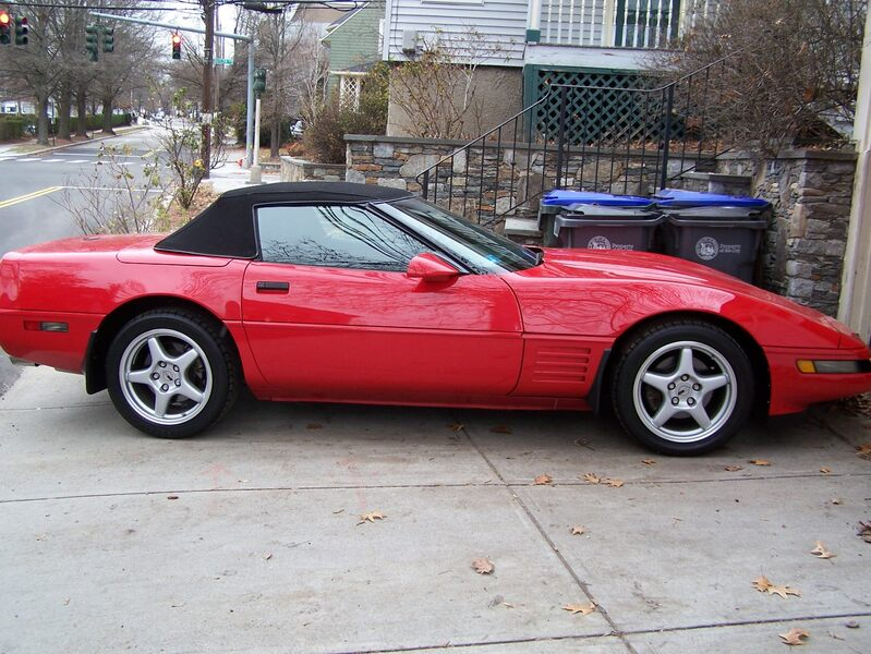 1992 Grand Sport Convertible, Black Top, Red Chassis picture #1