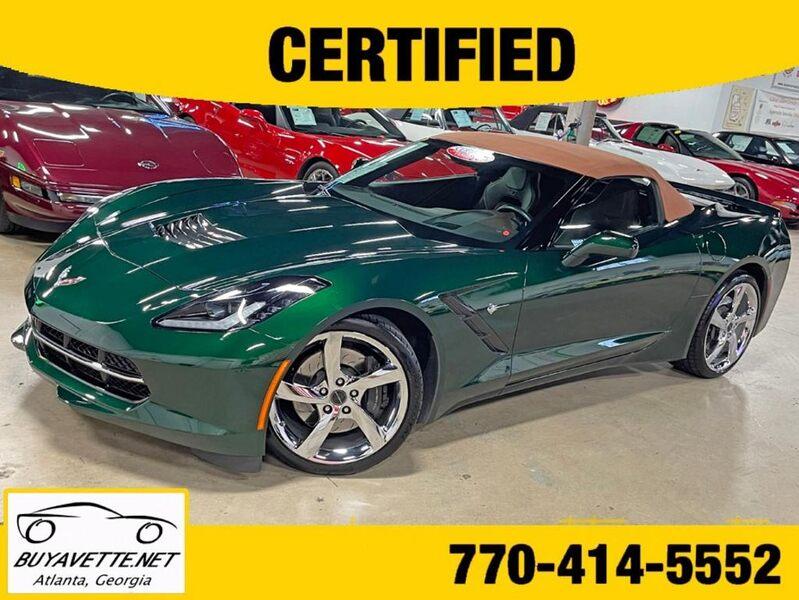 2014 Corvette Stingray Z51 Premiere Edition Convertible #113/550 picture #1