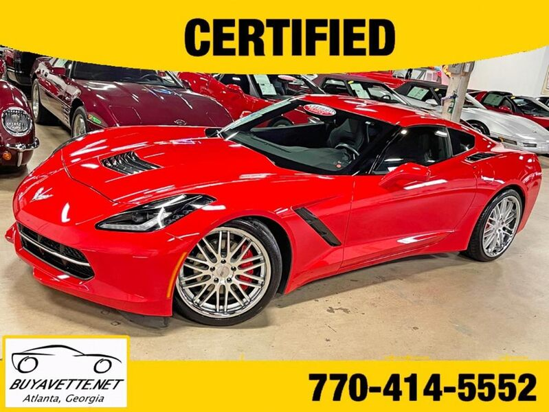 2016 Corvette Stingray 1LT Supercharged 600+hp Coupe Custom picture #1