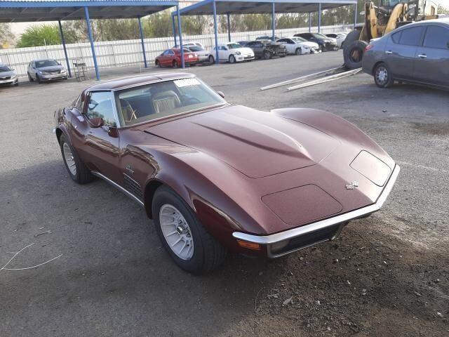 1971 Corvette Coupe Coupe picture #1