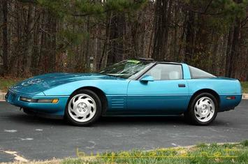 1993 corvette coupe