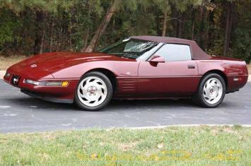 1993 corvette convertible