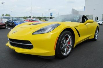 2014 corvette stingray 2dr cpe w 1lt
