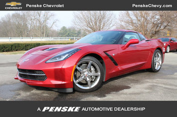 2015 corvette 2dr stingray coupe w 2lt