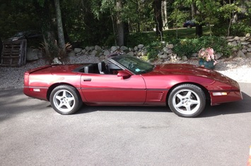 1986 corvette convertible pace car