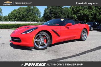 2014 corvette stingray 2dr convertible w 3lt