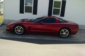 2001 corvette coupe