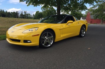 2007 corvette coupe