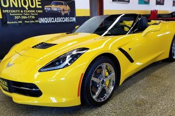 2014 chevrolet corvette stingray convertible 3lt
