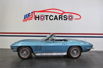 1965 chevrolet corvette convertible fuelie