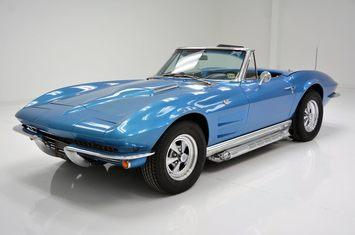 1963 chevrolet corvette roadster