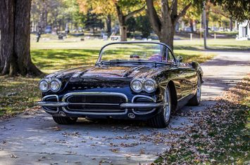 1961 retro mod classic look modern performance 540hp