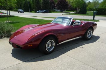 1975 corvette convertible