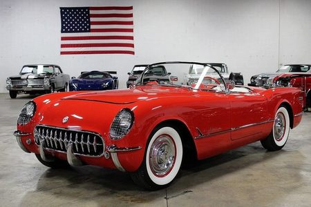 1955 chevrolet corvette 1