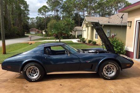 """1977 Corvette Coupe / """"T"""" Tops picture #1"""