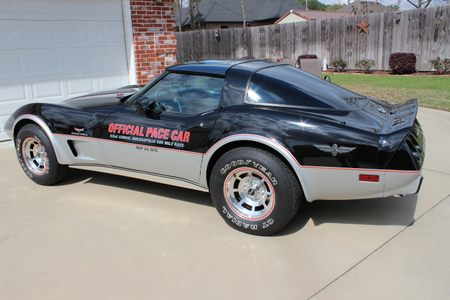 1978 Corvette Pace Car picture #1