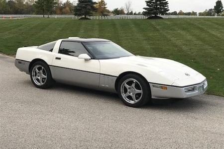 1986 Z51 Coupe, White/silver picture #1