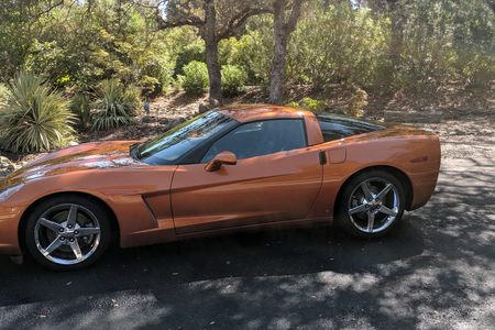 2008 Corvette Coupe Z51 LT4 picture #1