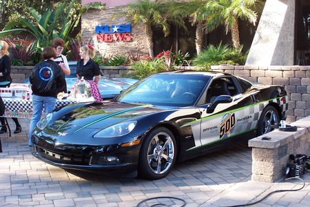 2008 Indy 500 Pace Car Corvette Coupe picture #1