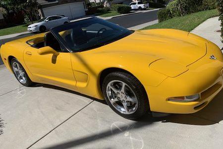2003 Chevy Corvette - Anniversary Edition picture #1