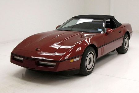 1986 Corvette Convertible Convertible picture #1
