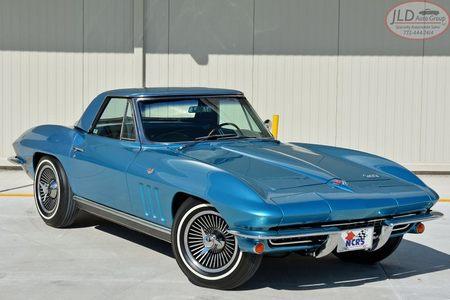 1966 Corvette Convertible 327 Factory Ac! Bloomington Gold/Top Flight! Convertible 327 Factory Ac! Bloomington Gold/Top Flight! picture #1