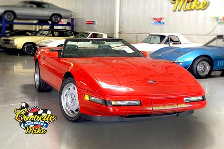 1991 Corvette Convertible Convertible picture #1