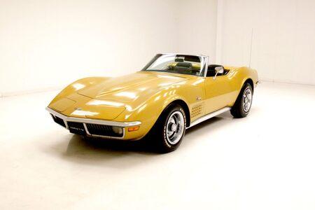 1971 Corvette Convertible Convertible picture #1