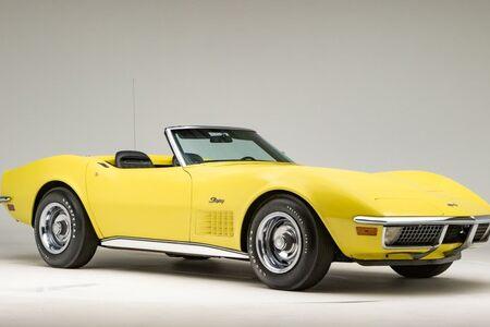 1970 Corvette Convertible Convertible picture #1