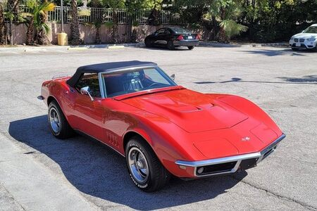 1968 Corvette Convertible Convertible picture #1