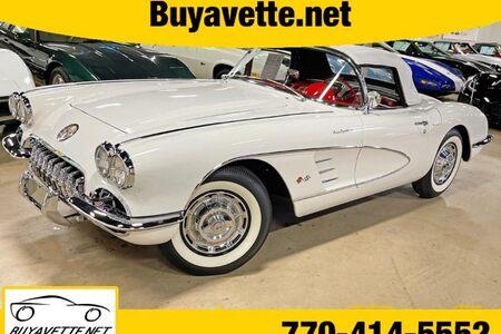 1959 Corvette Fuel Injection Convertible picture #1