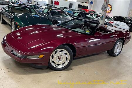 1993 Corvette 40th Anniversary Convertible NCRS Top Flight And Performance Verification picture #1