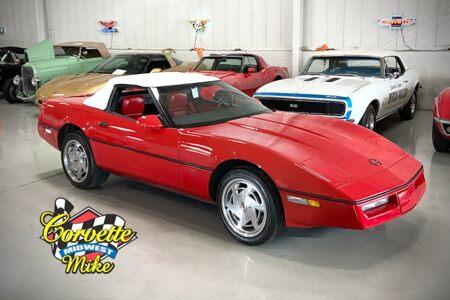 1989 Corvette Convertible Convertible picture #1