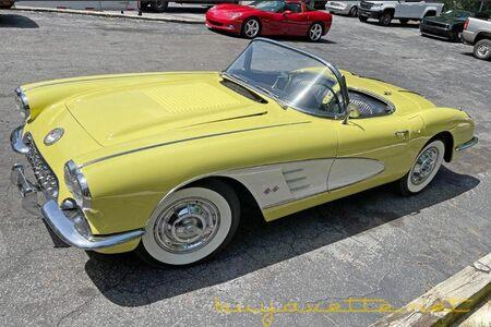 1958 Corvette Convertible picture #1