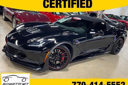 2016 Corvette Z06 3LZ Black Suede Design Package Convertible Custom picture #1