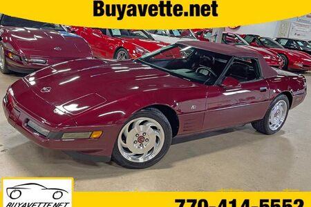 1993 Corvette 40th Anniversary Convertible picture #1