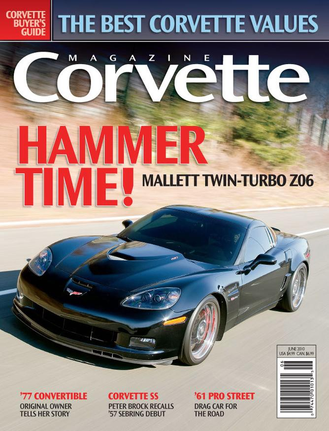 Corvette magazine 57 cover