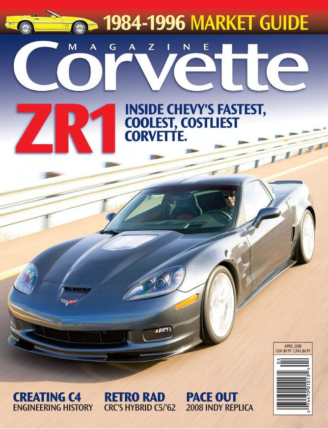 Corvette magazine 40 cover