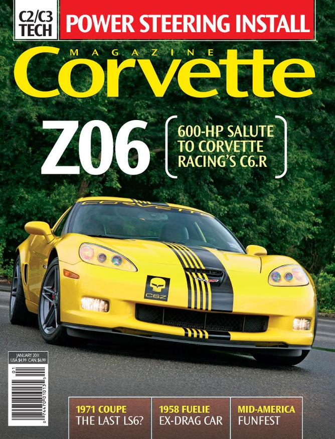 Corvette magazine 62 cover
