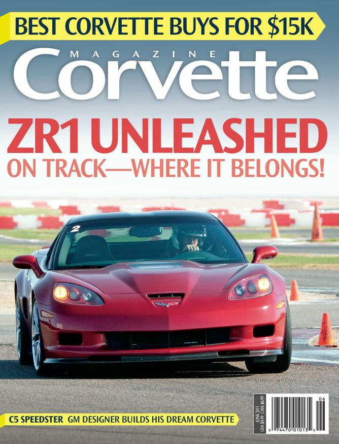 Corvette magazine 65 cover