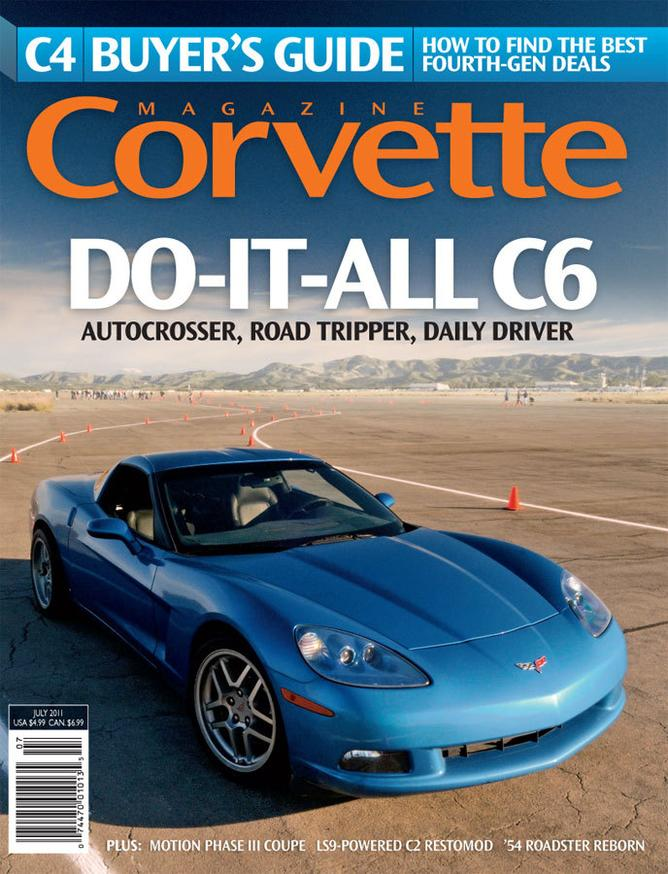 Corvette magazine 66 cover