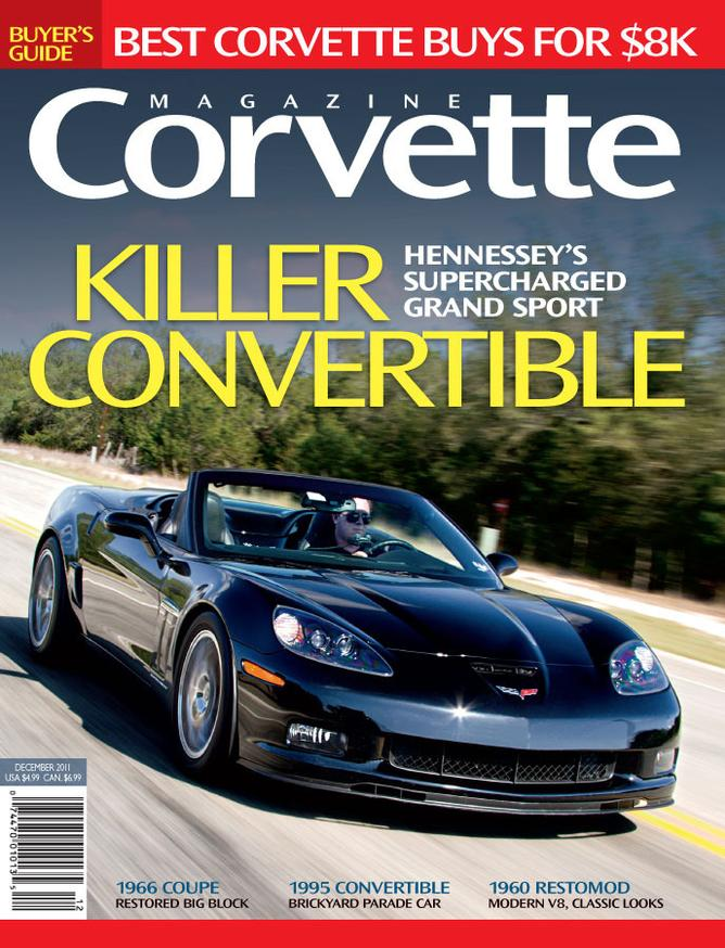 Corvette magazine 69 cover