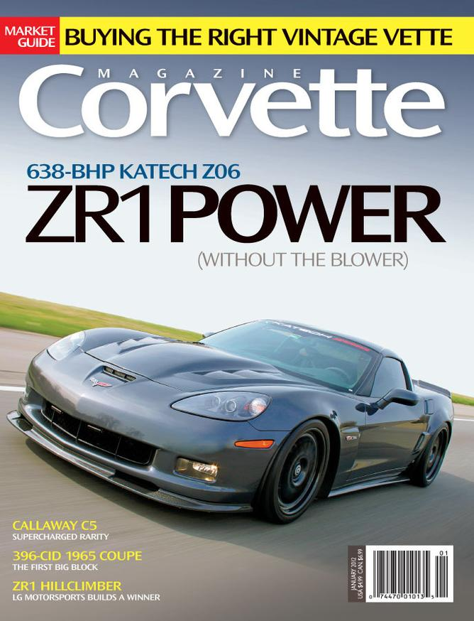 Corvette magazine 70 cover
