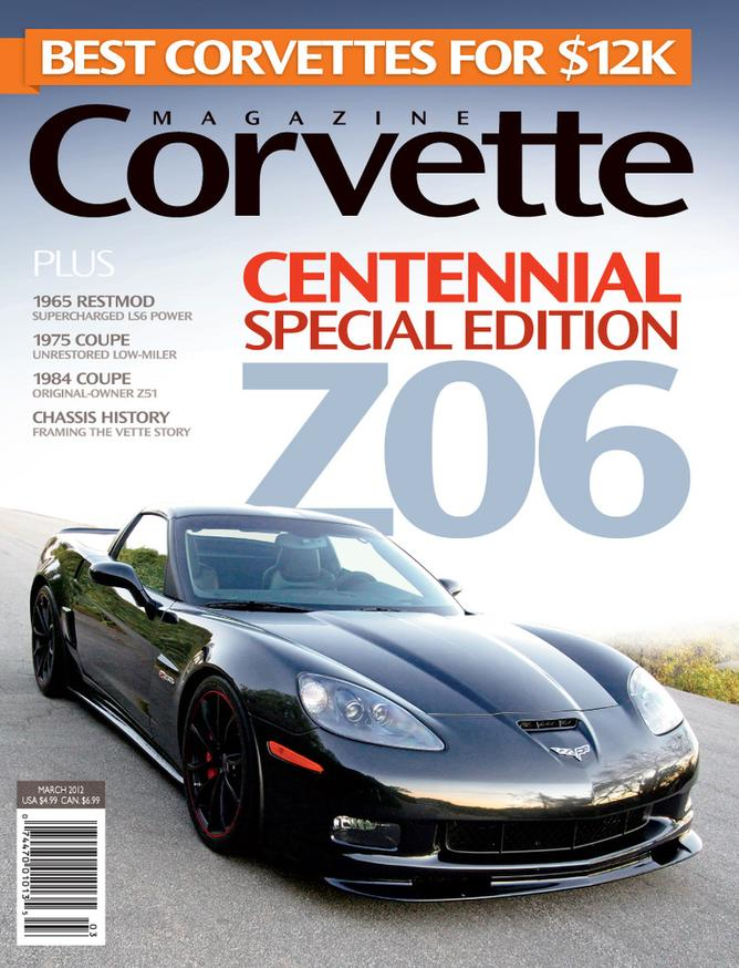 Corvette magazine 71 cover
